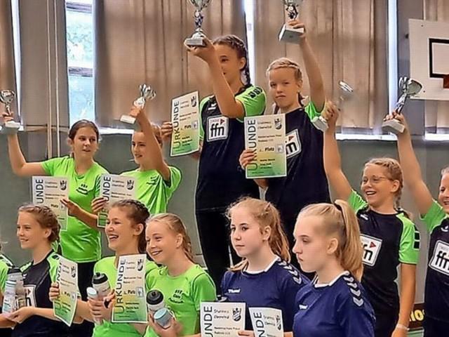 U15-Schülerinnen von Stahlross Obernfeld holen Landespokal