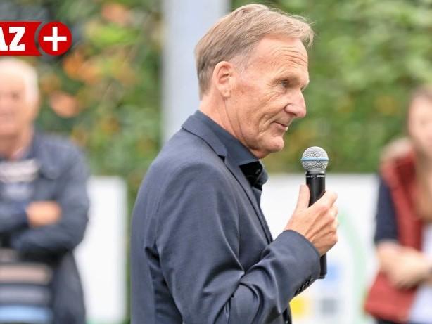 Wahlkampftermin: Fußball-WM 2022 in Katar: BVB-Boss Watzke lehnt Boykott ab