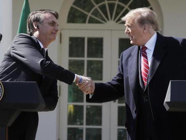 Bolsanaro-Besuch in Washington: Trump-Äußerungen zu Brasilien irritieren Nato-Partner