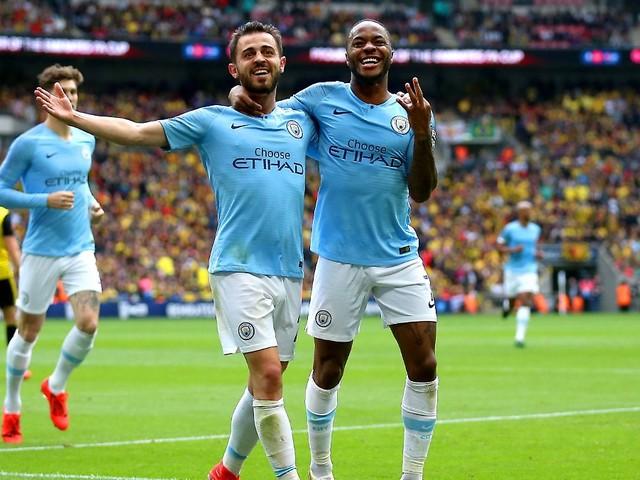 "Historisches ""domestic treble"": Sterling schießt ManCity zu FA-Cup-Triumph"