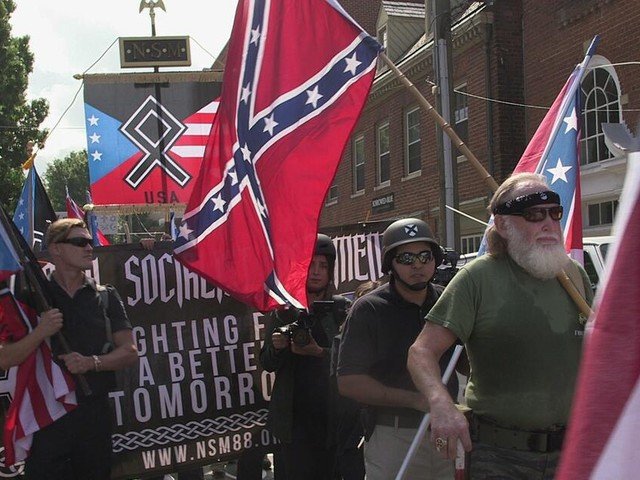 """Fall Charlottesville: """"Sieg Heil"""" und Nazi-Symbole in USA nach Verfassung erlaubt"""