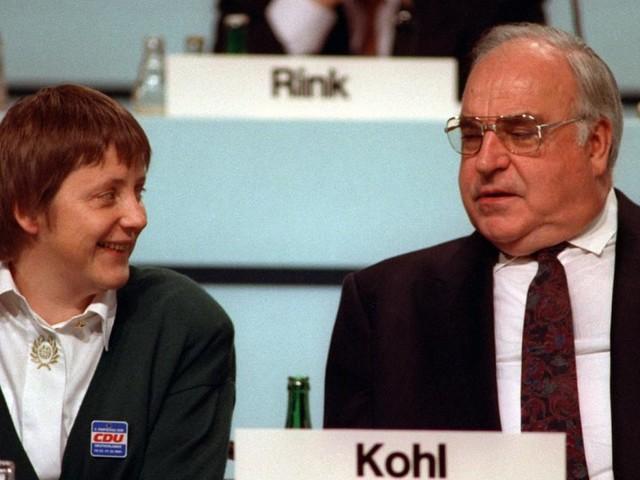 Nicht automatisch die Nummer eins: Wie Merkel und Kohl ins Kanzleramt kamen