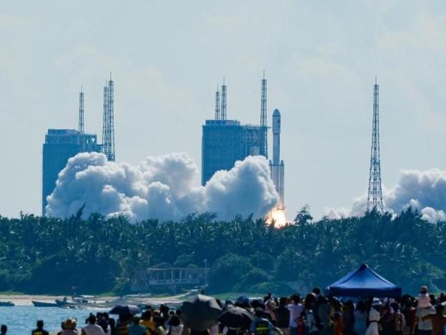 China schickt weiteren Versorgungsflug zur neuen Raumstation