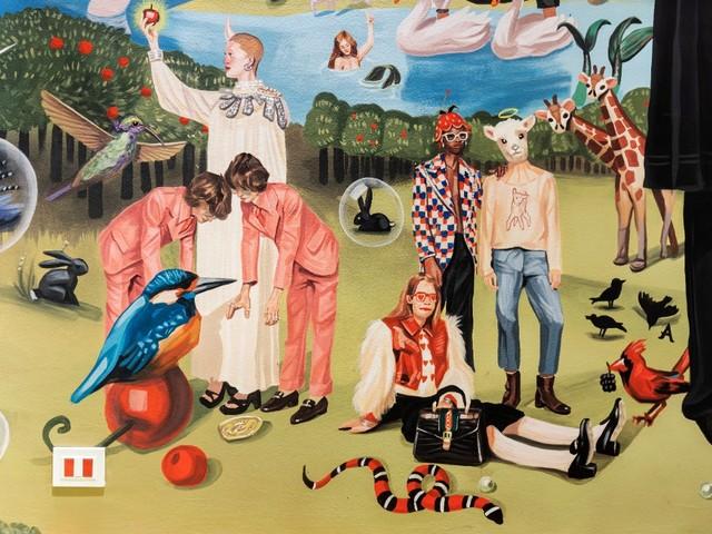 Zum 100. Jubiläum: Gucci-Ausstellung taucht in die kreative Vision von Alessandro Michele ein