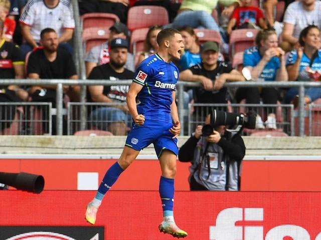 3:1 beim VfB: Leverkusen gewinnt trotz Unterzahl