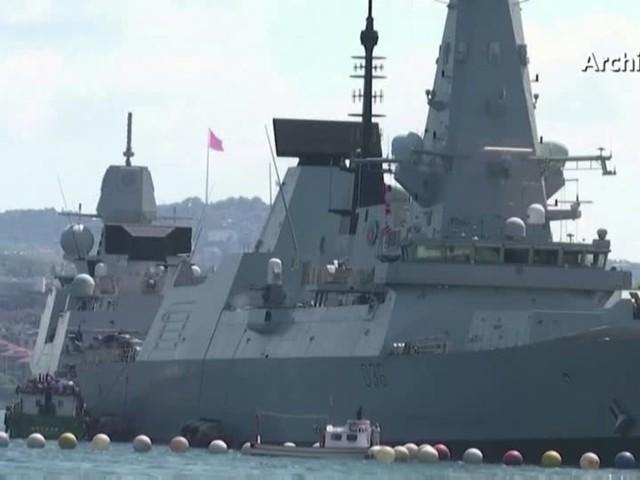 Video: Vorfall um britischen Zerstörer vor der Krim