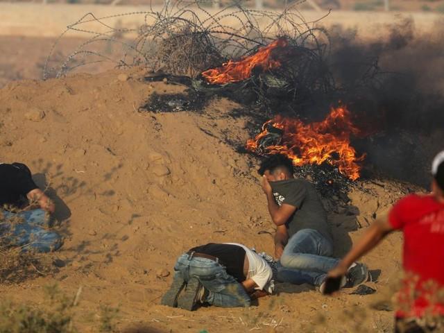 Zwölfjähriger Palästinenser nach Konfrontationen an Gaza-Grenze tot