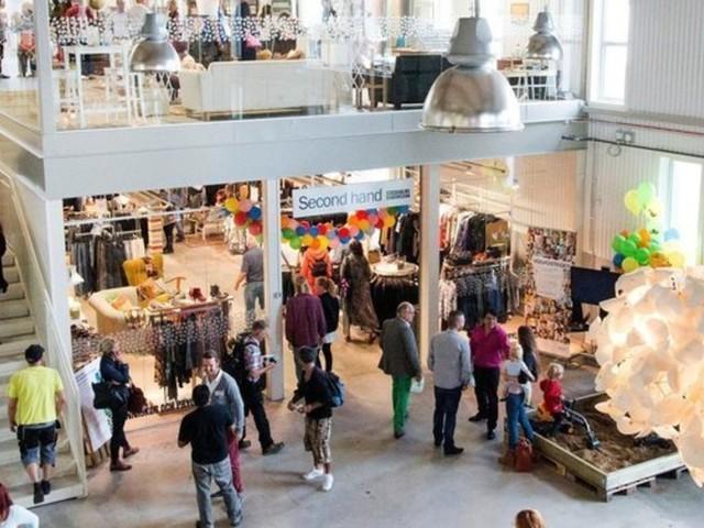 Das ist das erste Secondhand-Einkaufszentrum der Welt – so sieht es darin aus