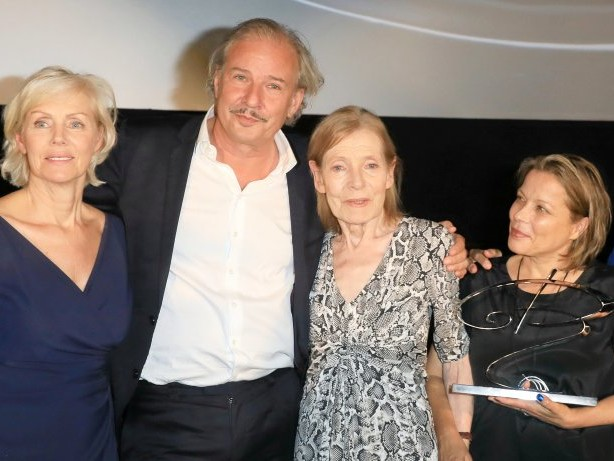 """Auszeichnung : Margit Carstensen: """"Ich glaube, ich ertrag' das nicht"""""""