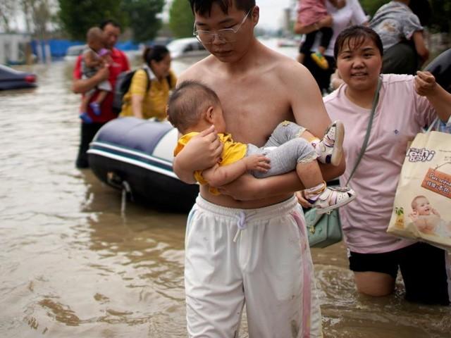 Hochwasser in China: Zahl der Todesopfer auf 33 gestiegen