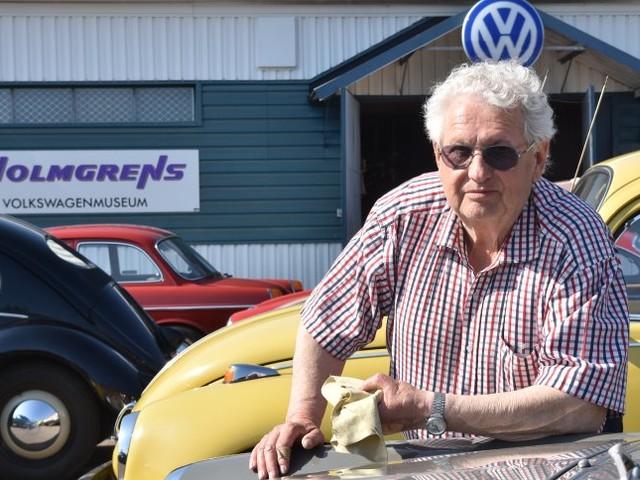 Einzigartige VW-Sammlung wird versteigert: Herr Holmgren macht die Halle leer