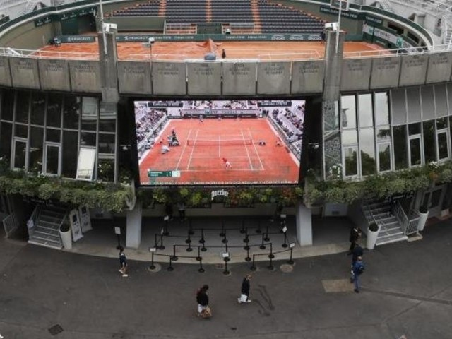 French Open im Optimalfall vor 118.000 Besuchern