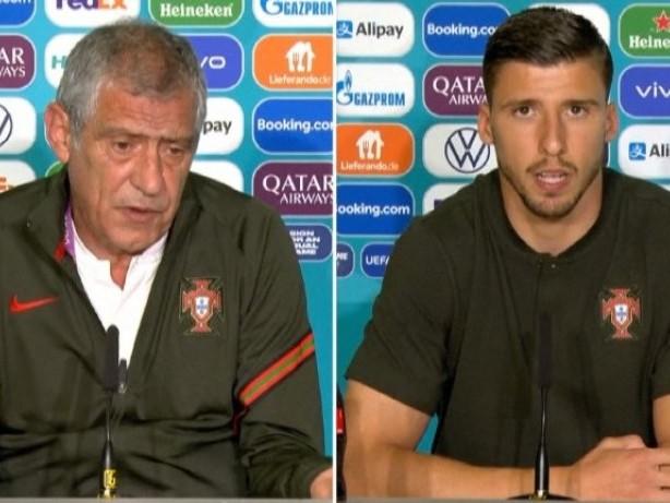 """Portugal-Trainer Santos: """"Keine Angst vor Deutschland"""""""