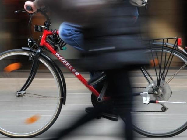 Bitte langsam: Radeln in der Fußgängerzone nur mit Erlaubnis