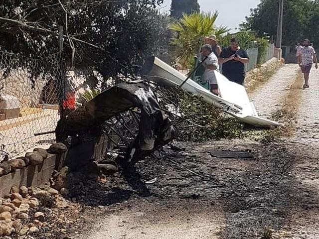 Ursache noch unklar - Mindestens fünf Tote bei Kollision von Hubschrauber mit Kleinflugzeug auf Mallorca