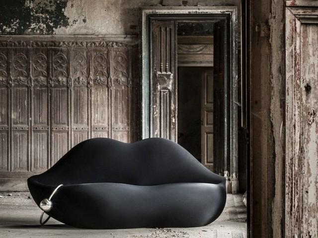 Extravaganter Wohnen: Wenn Lippen zum Sofa werden