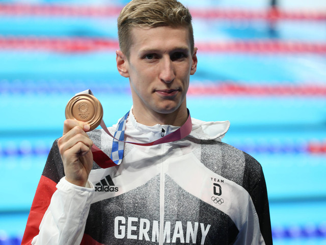 Olympia 2021: Schwimmer Florian Wellbrock holt Bronze - das war die Olympia-Nacht