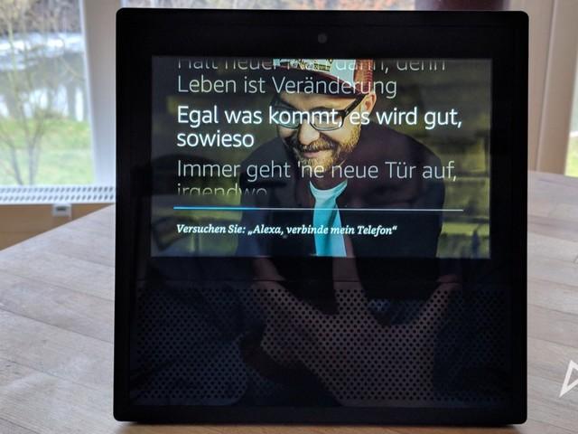Amazon Echo Show: YouTube ist zurück, weitere Dienste geplant