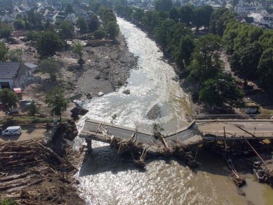 Studie - Klimawandel macht Hochwasserkatastrophen wahrscheinlicher