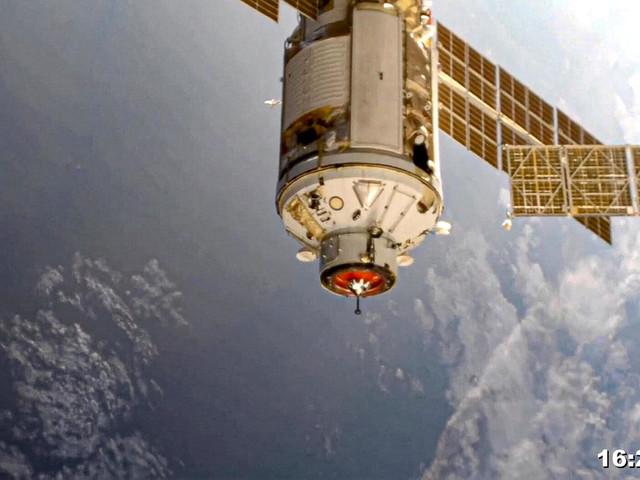 """Raumfahrt: Schockmoment an der ISS – Triebwerk zündet """"unbeabsichtigt"""""""
