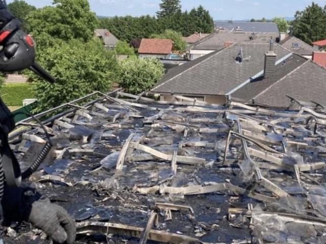 Photovoltaikanlage auf Haus in Niederösterreich brannte lichterloh
