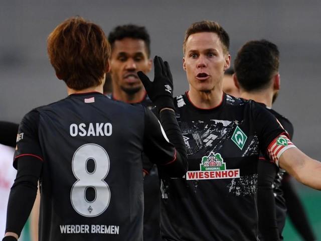 Werder Bremen buchte letztes Halbfinal-Ticket im DFB-Pokal
