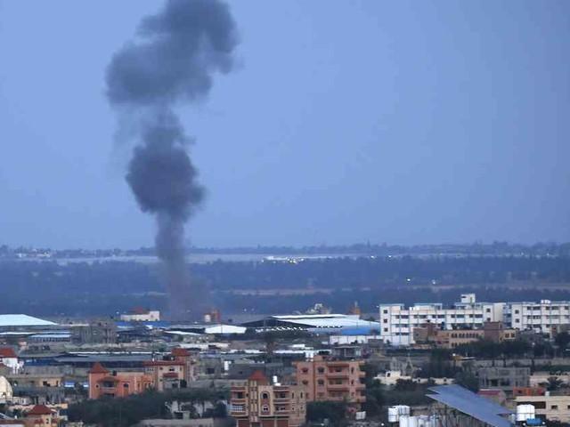 Luftwaffe fliegt Vergeltungsangriffe: Israel bombardiert Ziele im Gazastreifen