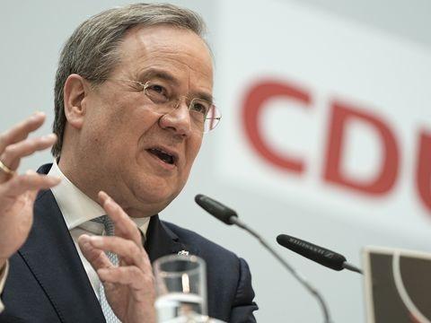 Bundestagswahlkampf - CDU-Gremien: Großer Rückhalt für Laschets Kanzlerkandidatur