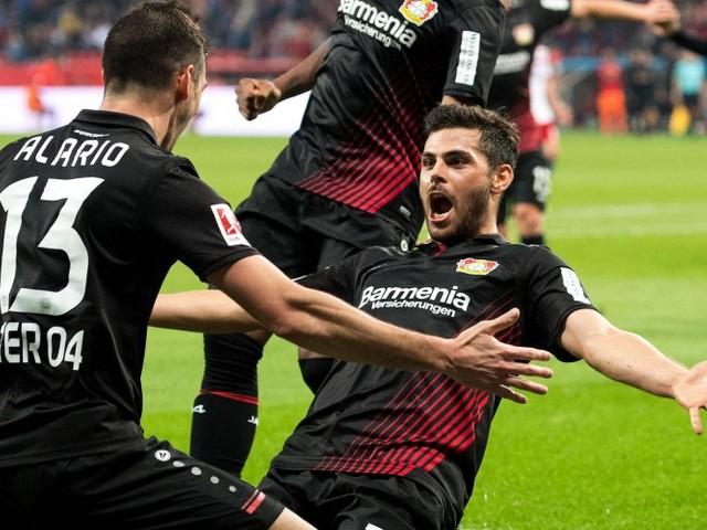 Alario glänzt gleich im ersten Spiel für Leverkusen