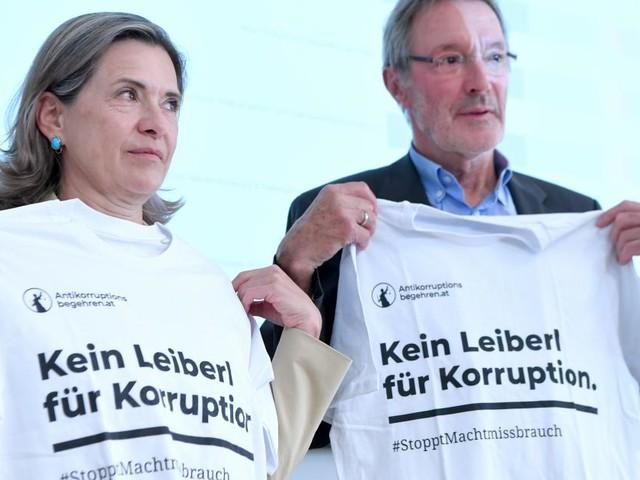Antikorruptions-Volksbegehren: 72 Fragen an Parlamentsparteien