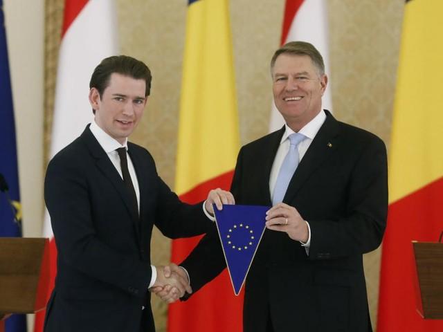 EU-Vorsitz: Kurz übergibt an das gespaltene Rumänien