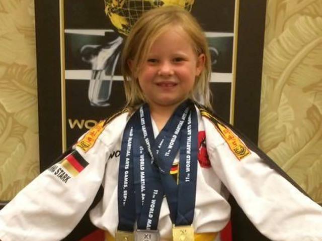 Nachwuchstalent aus Rottendorf - Hanna Stark räumt bei den World Games in Orlando groß ab
