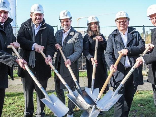 Projekt: Neubau direkt neben dem Förderturm der Zeche Osterfeld