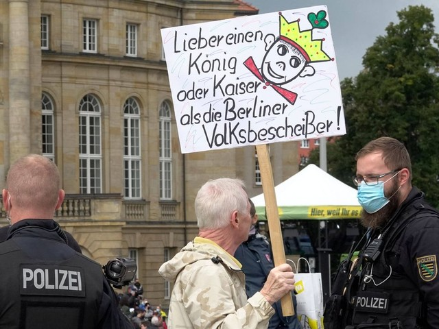 Annalena Baerbock in Chemnitz: Rechte bei Grünen-Auftritt