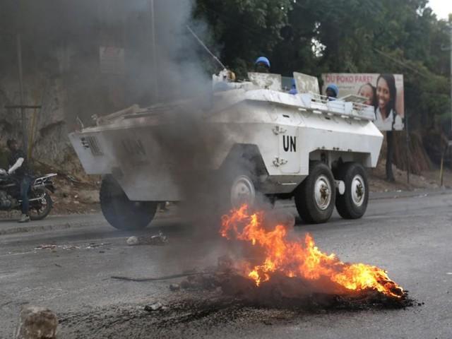 Szenen der Gewalt bei Protesten in Haitis Hauptstadt