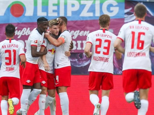 Fußball-Bundesliga: Werner trifft nach Vertragsverlängerung - Leipzigbesiegt Frankfurt