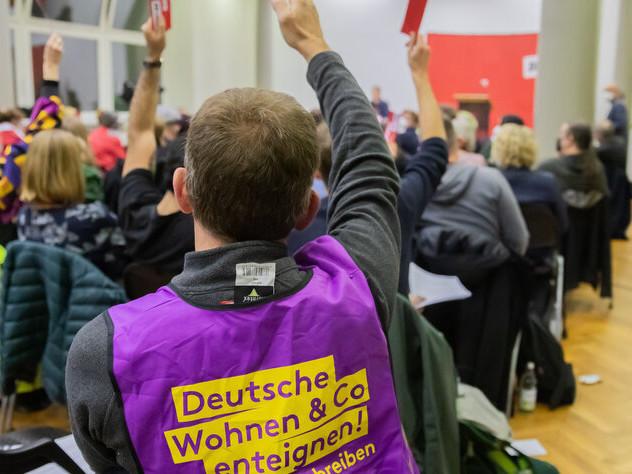 Linke stimmt für Koalitionsverhandlungen: Gretchenfrage Enteignung
