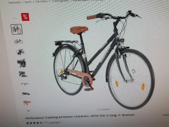 Fahrrad in Sankt Augustin Zentrum