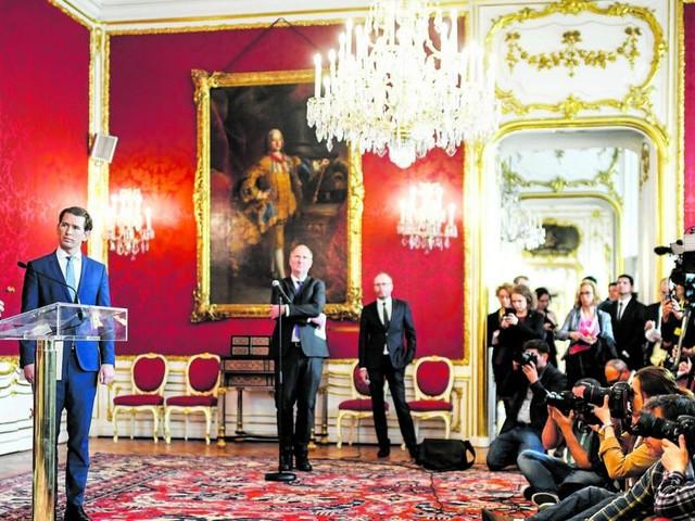 Staatsmann gefordert: Ruhender Pol in der Hofburg