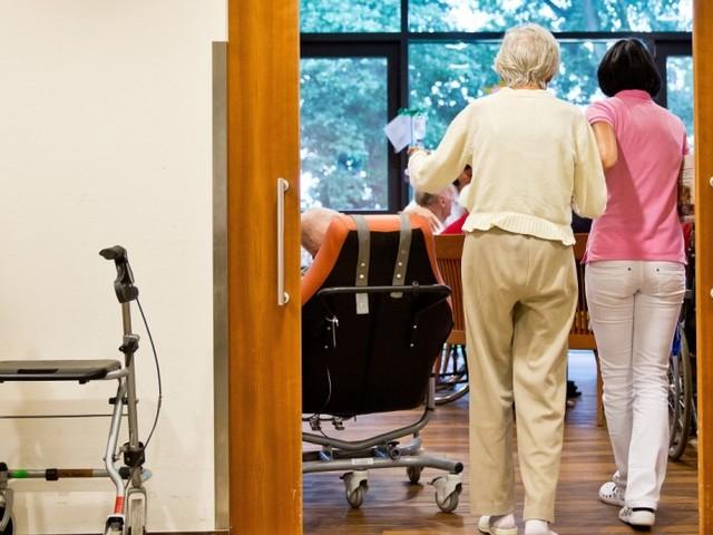 Belastetes Pflegepersonal