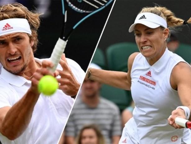 Wimbledon: Zverev scheitert - Kerber bucht Viertelfinale