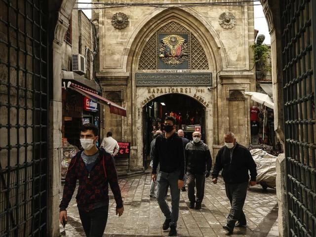 Touristenattraktion: Großer Basar in Istanbul beendet Corona-Pause