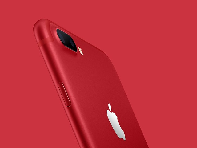 Apple stellt rotes iPhone 7 (PRODUCT)RED vor