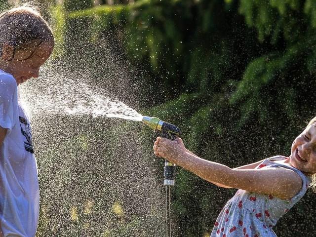 Sonne satt: Bislang heißester Tag des Jahres in NRW