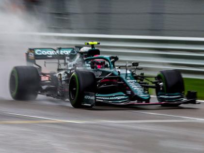 Formel 1: Aston Martin Vettel sauer auf sich selbst