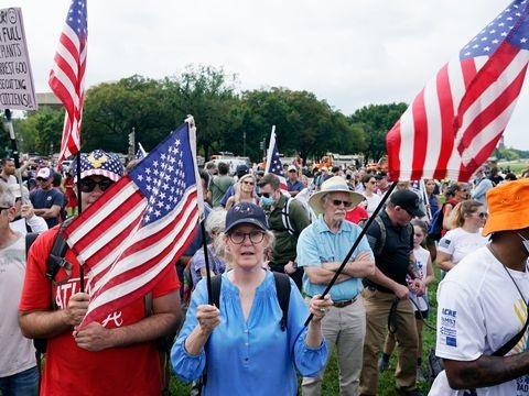 Washington: Einige Hundert Demonstranten bei Trump-Demo am US-Kapitol