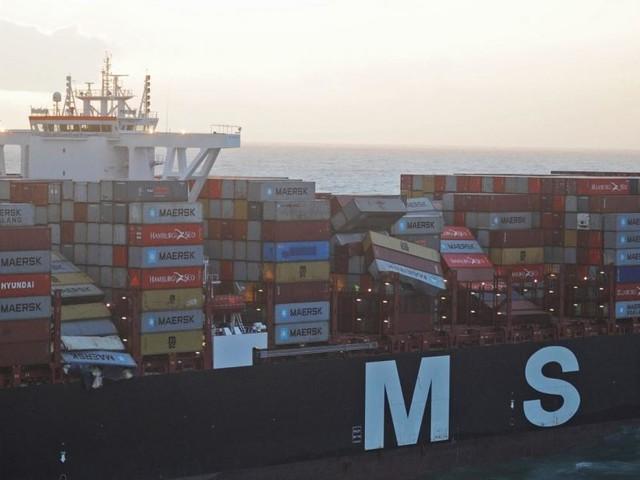 Containerschifffahrt: Täglich sieben Zwischenfälle auf hoher See