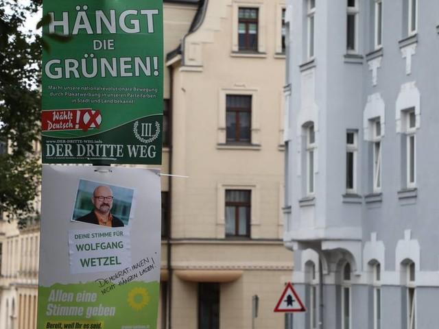 Schlussphase im Wahlkampf: Wahlplakate vor Gericht