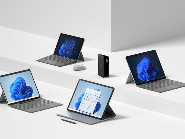 Laptop Studio und Pro 8: Microsoft erneuert seine Surface-Geräte für Windows 11
