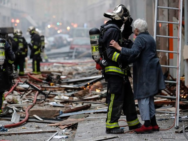Mögliches Gasleck: Explosion zerstört Bäckerei im Zentrum von Paris